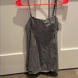 Urban outfitters checkered summer dress.